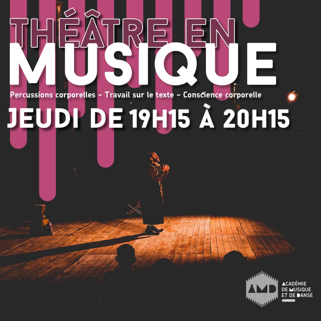 Théâtre en musique